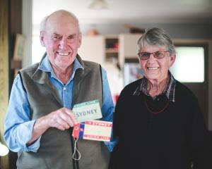 Weston couple John (85) and Ethel (88) Johnston, who celebrate their 60th wedding anniversary...