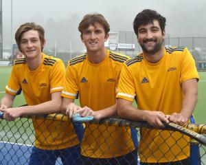 Ward brothers (from left) Patrick, Finn and Jordan will all turn out for the Otago senior team...