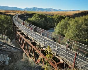 The Otago Central Rail Trail. Photo: Supplied