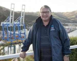 Recently-retired Port Chalmers Maritime Union branch secretary and Port Otago controller Phil...
