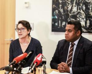 Police Minister Poto Williams and Justice Minister Kris Faafoi announce changes to gun...