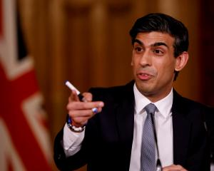 Finance Minister Rishi Sunak. Photo: Reuters