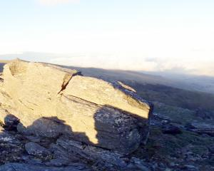 The Rock and Pillar Range. PHOTO: ODT FILES