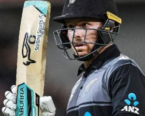 New Zealand Cricket says Tim Seifert is experiencing moderate symptoms of Covid. Photo: NZ Herald