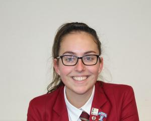 Meat Industry Association scholarship recipient Tully Paterson, of Invercargill, is chasing a...