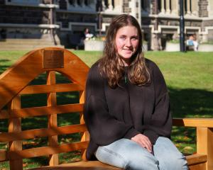 University of Otago student Emilia Haszard received the first Sophia Michelle McMillan Crestani...