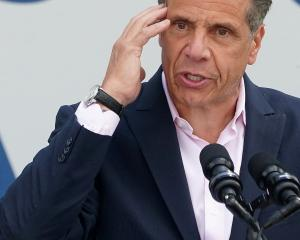 New York Governor Andrew Cuomo. Photo: Reuters