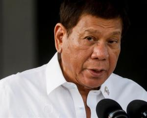 Philippine President Rodrigo Duterte. Photo: Reuters