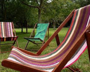 The landlord was told to remove her garden furniture because her tenants' had sole rights to the...