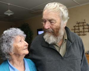 Balclutha residents Beverly and Bruce Keith. PHOTO: JOHN COSGROVE