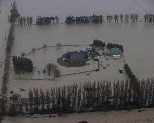 Farms in the region were badly affected by flooding. Photo: George Heard