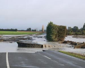 Many roads in the region have been severely damaged. Photo: RNZ