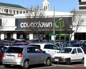 Countdown in Dunedin Central. Photo: ODT