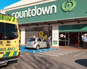 The attack took place at the Cumberland St Countdown on May 10. Photo: ODT