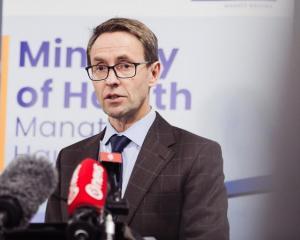 Director-General of Health Ashley Bloomfield. Photo: RNZ / Samuel Rillstone