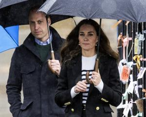 The Duchess Of Cambridge rocks the Breton look during a recent visit to St Andrews University....