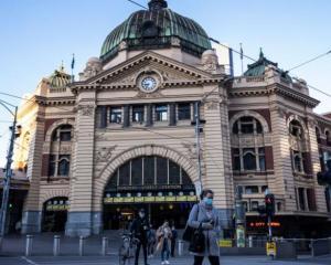 Flinders Street station in Melbourne. File photo: Getty