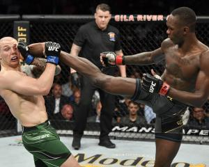 Israel Adesanya was dominant in his win over Marvin Vettori. Photo: Getty Images