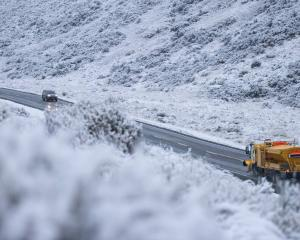 Canterbury and Otago may be in for some snow next week as temperatures are set to plummet. Photo:...