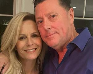 Lorraine Downes and Glenn Cotterill have found happiness. Photo: Supplied via NZH