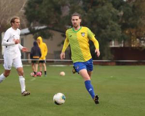 Cashmere Technical goalscorer Garbhan Coughlan was on target during the title-clinching draw with...