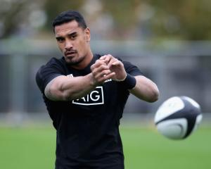 Jerome Kaino at All Blacks training this year. Photo: Getty Images
