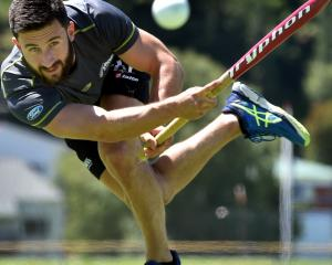 Kane Russell back in Dunedin for Christmas in 2015 prior to heading away for the Rio Olympics the...
