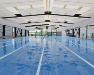 An image of the main pool. Photo: supplied