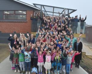 The 110 pupils of Liberton Christian School and the school staff are loving having new classroom...