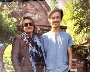 Louisa Patterson with son James Patterson-Gardner. Photo: Supplied