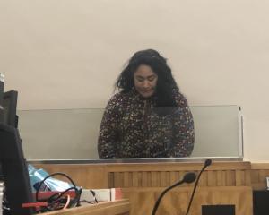 Louise Akata Kuresa (31) today at Invercargill District Court. Photo: Supplied