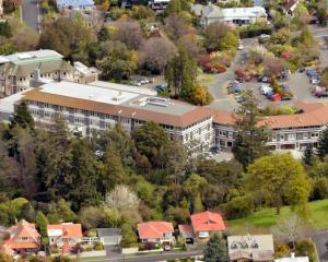 Mercy Hospital in the Dunedin suburb of Maori Hill. Photo: ODT files