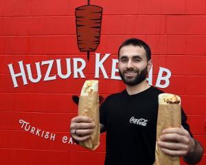 Mustafa Boztas has opened a Turkish restaurant in Dunedin. PHOTO: STEPHEN JAQUIERY