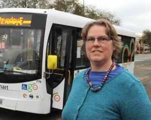 The newly changed bus service is upsetting some Invercargill bus users, including resident Karen...
