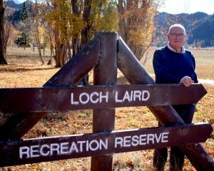 Ahuriri ward councillor Ross McRobie says the proposed temporary liquor ban at Loch Laird is a...