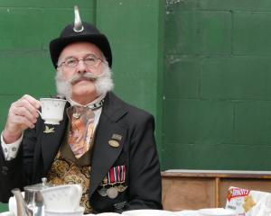 When it comes to tea duelling, the contest's ''tiffin'' Colonel Sir Julius Hawthorne does not...