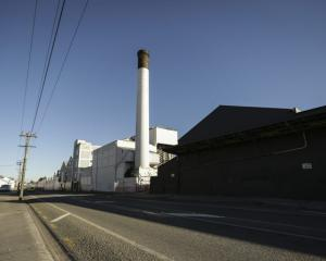 Some of the ouvea premix is stored at the disused paper mill in Mataura. Photo: RNZ