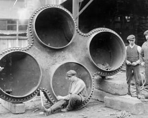 Stevenson and Cook's tradesmen, pictured in 1914, developed an international reputation for the...