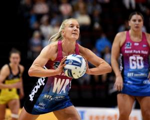 Shannon Saunders in action for the Southern Steel earlier this year. Photo: Getty Images