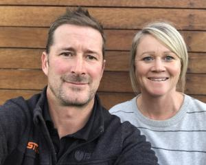 Despite business setbacks over the past year, Warren and Jodie McSkimming are still smiling and...