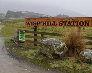 An application for the acquisition of the 5500ha sheep and beef farm Wisp Hill Station in Owaka...