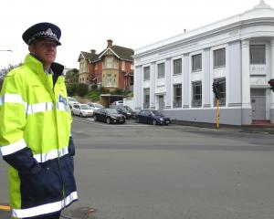 Dunedin Police Senior Sergeant Craig Dinnissen says red light cameras might be one way to help...