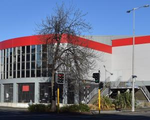 The former central Dunedin Warehouse site, which will become the new headquarters for the Otago...