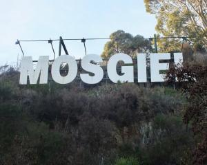 The ''iconic'' Mosgiel sign is to be revamped. PHOTO: GILLIAN VINE