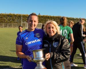 Coastal Spirit SAS have wrapped up the New World Women's Premiership. Photo: Mainland Football