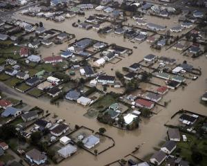 The town of Westport on the South Islands West Coast has been completely flooded with many...