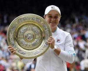 Ash Barty  became the first Australian woman to win Wimbledon since idol Evonne Goolagong...