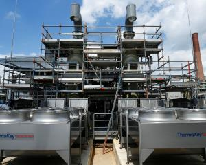 One of the world's first ''green'' hydrogen plants, Refhyne, built by the oil and gas company...