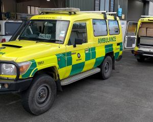 Former Queenstown Lakes area ambulances loaded with clinical equipment and medical supplies are...