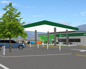 An artist's impression of the proposed Countdown for Wanaka. IMAGE: COUNTDOWN